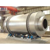 Low Fuel Consumption Sand Dryer Machine Rotating Drum Dryer With Burner Natural Gas