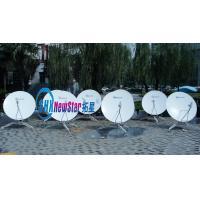 China 1.8m carbon fiber manual flyaway antenna on sale