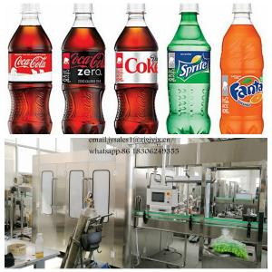 China Complete Carbonated Drink Filling Machine , Energy Drink Production Line on sale