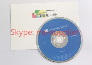 China OEM Computer System Softwares , Microsoft Server 2016 Standard DVD 32 64 Bit Sticker on sale