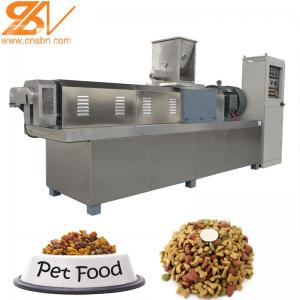China Fish Food Plant Machinery Line , Pet Food Manufacturing Equipment on sale