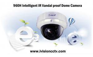 China 960H Intelligent IR Vandal proof Dome Camera on sale