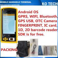 KO-HM606 Handheld Rfid Fingerprint Sensor Barcode Reader