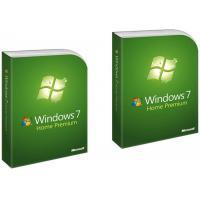 Microsoft Win 7 Home Premium Pack 32bit / 64bit Retail Box