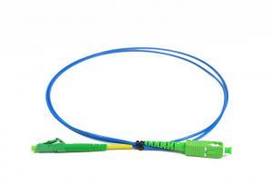China SC / APC E2000 / APC Simplex Fiber Optic Patch Cord for Access Network on sale