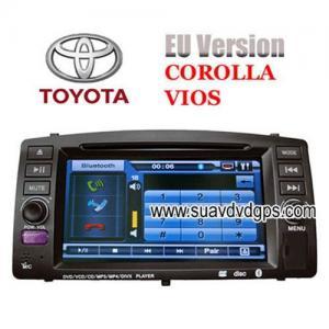 China EURO Version TOYOTA COROLLA VIOS Car DVD Player GPS navigation TV IPOD on sale