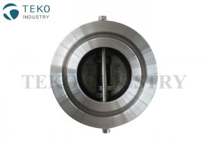 China Stainless Steel Wafer Check Valve Vertical And Horizontal Installation Between Flanges on sale