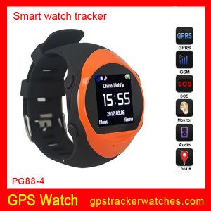 China Quad-bands GPS Tracker watches support MP3/MP4 player on sale