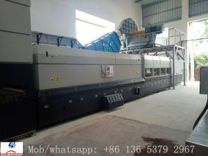 China Bi-direction Flat and Bending Glass Tempering Machine / Glass Tempering Furnace on sale