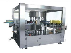 China Automatic Control Shrink Sleeve Labeling Machine , Hot Melt Glue Labeling Machine on sale