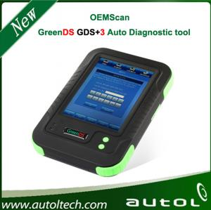 China 2014 Original Greends Gds+ 3 with Printers Covers 50 Cars Car Diagnostic Tool Oemscan Greends Gds+3 on sale