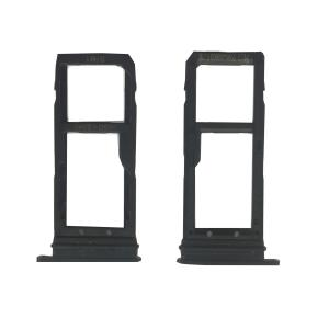 China Metal Cell Phone Spare Parts Sim Card Holder Tray With Waterproof Gasket Ring on sale