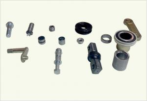 China Aluminum Alloy Metal Machined Parts , Cnc Spare Parts Surface Finsihed on sale