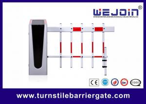 China 3 Fence Boom Type Parking Barrier Gate With Permanent Magnet Synchronous Motor on sale