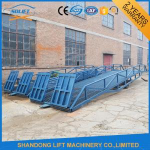 China Adjustable Warehouse Container Loading Ramps supplier