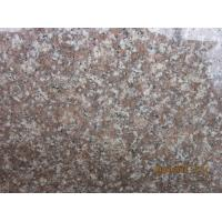 China Peach Red G687 Granite Stair Step Riser Tread Bullnose For Sale G687 Granite Peach Red Granite Tiles on sale