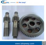 Forging Gearbox straight bevel gear for agriculture machines rotary cutter