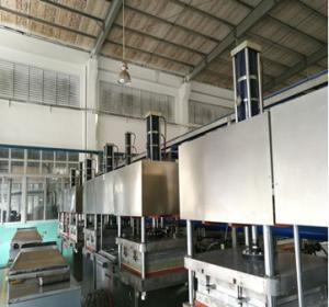 China Semi Automatic Tableware Making Machine , High Speed Paper Dish Making Machine on sale