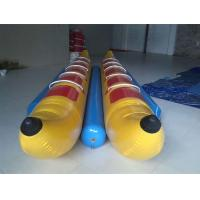 10 Seats Inflatable Toy Boat , Double-tripple stitch Inflatable Banana Boat