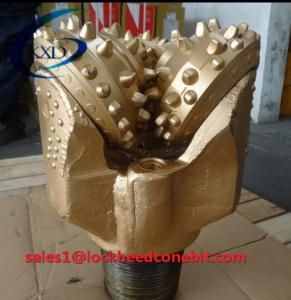 China 9 1/2 blue color Hard Rock Tricone Roller Cone Drilling Bit in large stock on sale