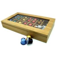 bamboo k cup coffee pod storage box
