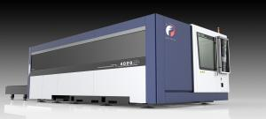 China Machinery Parts CNC Metal Laser Cutter 3000 Watt IPG / RAYCUS Laser Source on sale