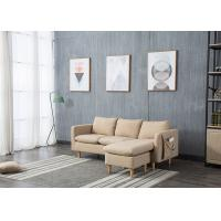 China Light Skin Contemporary Bedroom Furniture Fabric Corner Sofa Set Three Seater on sale