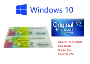 Quality Internet Activation Windows Genuine Sticker Operating System X20-19608 for sale