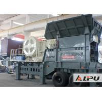 China Light Weight Mobile Crushing Plant For Hard Stone And Sand on sale