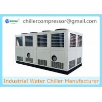 Siemens PLC Control 100 tons Air Cooled Screw Water Chiller with Variable Water Pumps