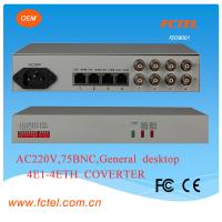 China 4e1 to Eth With one  lan  Protocol Converter on sale