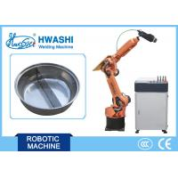 China Industrial Welding Robots Laser Welding Robot Machine for Stainless Steel Hot Pot Pan on sale