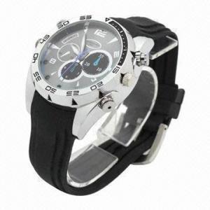 China IR Night Vision 1,080P Waterproof Hidden HD Spy Watch Camera, 380mAh High-capacity Lithium Battery on sale