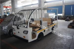 China Semi Convertible Special Purpose Vehicle Double Back Row With Cover on sale
