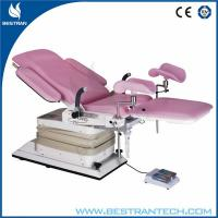 Hospital Obstetric Delivery Bed With Foam Plastic Soft Mat