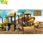 Public Park Plastic Playground Slide For Outdoor Playground