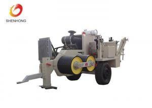 China Durable Wire Rope Tensioner Puller Machine , Hydraulic Cable Tensioner 22T on sale