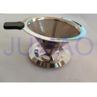 Stainless Steel Coffee Filter Wire Mesh Customized With Mirror Finish Surface