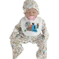 Full Cotton 5pcs Newborn Baby Girl Clothes Suits Children Cloth Sets For All Seasons