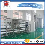 Large Scales Water Treatment Systems Filling Line Mineral Water Purification