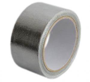 China Résistance abrasive faite sur commande 7mic acrylique papier d'aluminium de 18 microns - bande de cachetage de tissu en verre on sale