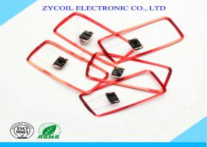 China Copper Induction Square Rfid Coil Antenna For Toy / Hearing Aid , Custom on sale