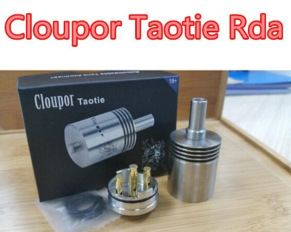 Taotie RDA and hot selling cloupor Taotie RDA china