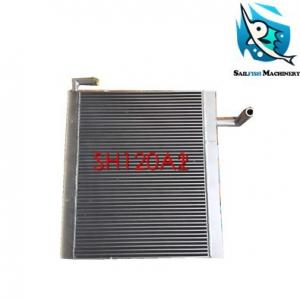 China Hot sale good quality aluminum SH120A2 oil cooling radiator for SUMITOMO excavator on sale