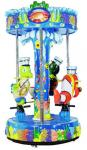 Small Size KQ60245E Amusement Park Facilities Ocean World Series With 3 Fly Chair