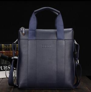 China Genuine Leather Men's business bags Laptop bag China supplier on sale