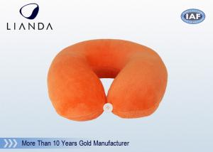 China Computer U Shaped Memory Foam Pillow Provide Optimal Head Support , Comfort Pillow Travel on sale