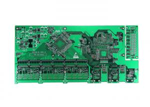 China Impedance Control Rigid PCB Board 6 Layers FR4 Material White Silkscreen on sale