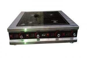 China Western Style 4 Ring Induction Hob , 4 Burner Induction Cooker Tabletop on sale
