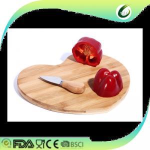 China heart shape cutting board chopping board price on sale